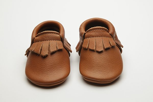 Bruno Moccs - Eco-Friendly Soft Leather Moccasins Baby Shoes by Wolfie and Willow
