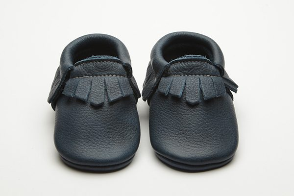 Saxon Moccs - Eco-Friendly Soft Leather Moccasins Baby Shoes by Wolfie and Willow