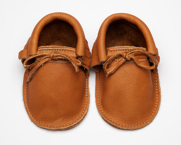 Sahara Bruno Moccs - Eco-Friendly Soft Leather Moccasins Baby Shoes by Wolfie and Willow (4)