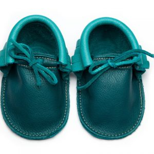 Sahara-Peacock-Cyan-Moccs-Eco-Friendly-Soft-Leather-Moccasins-Baby-Shoes-by-Wolfie-and-Willow-4