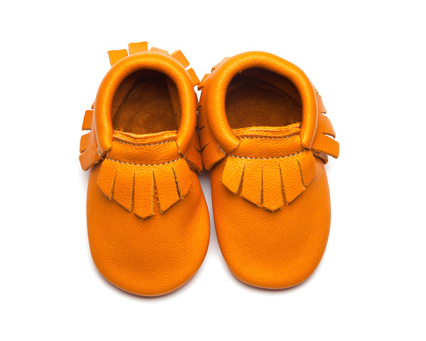 Sienna Moccs – Eco-Friendly Soft Leather Moccasins Baby Shoes by Wolfie and Willow